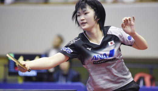 木原美悠は胸の大きな天才卓球少女?家族で父兄姉も選手?中学はどこ?