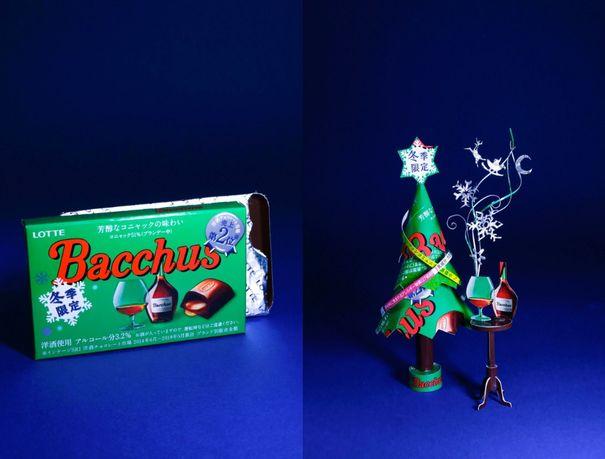 空き箱職人はるきる バッカス クリスマスツリー