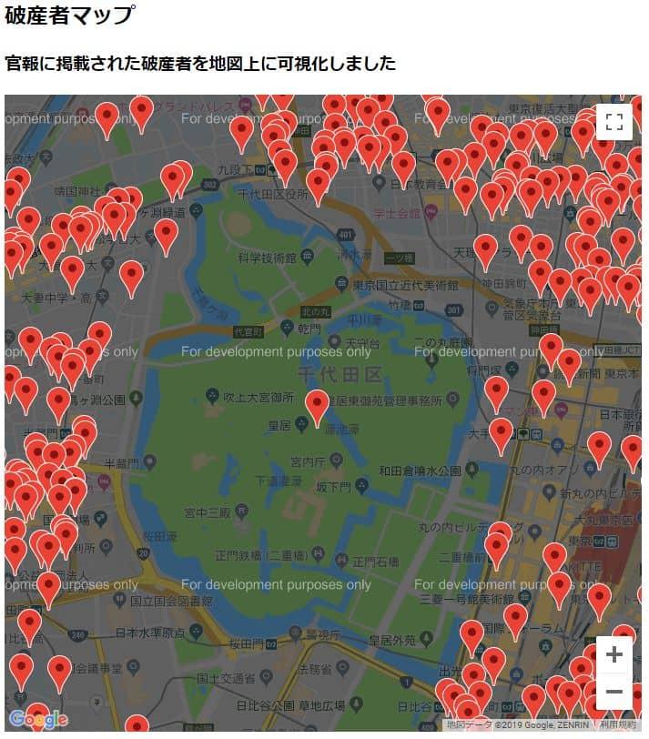 破産者マップ