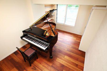 グランドピアノ 防音設備