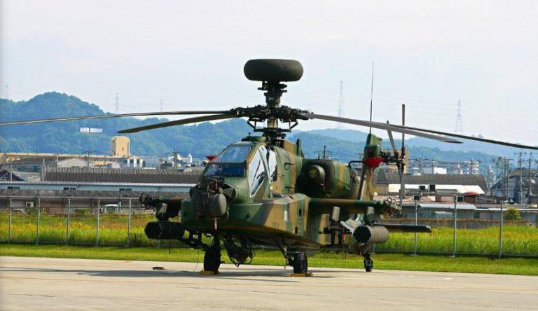 陸自ヘリコプター