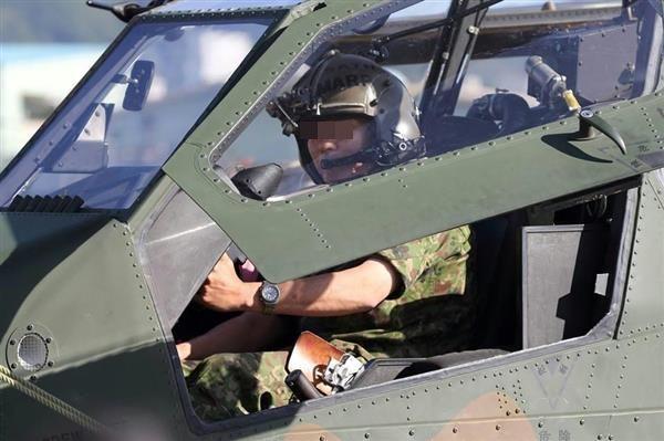 陸自ヘリコプターパイロット