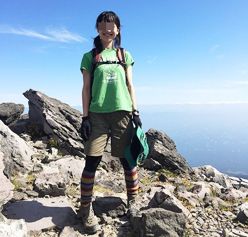 山ガール ※画像はイメージです。