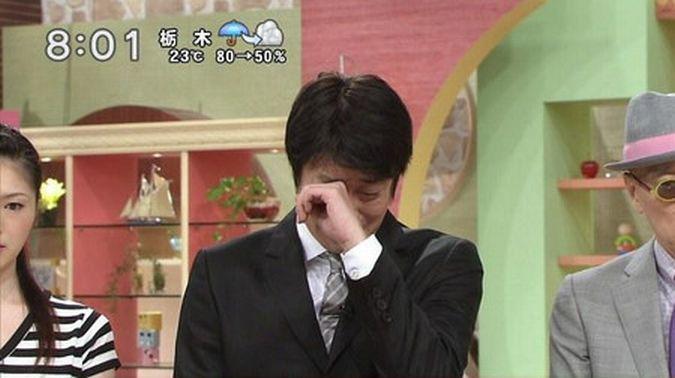 加藤浩次 号泣