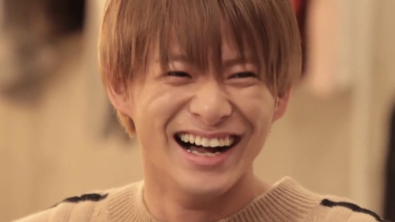 平野紫耀 笑顔
