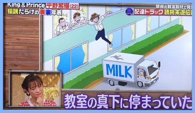 平野紫耀 トラック