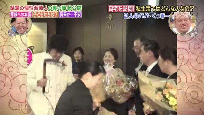 くっきー! 嫁 結婚式