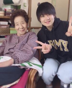 佐野勇斗 祖母