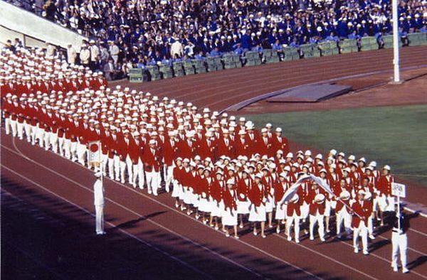 1964 東京オリンピック 開会式 行進